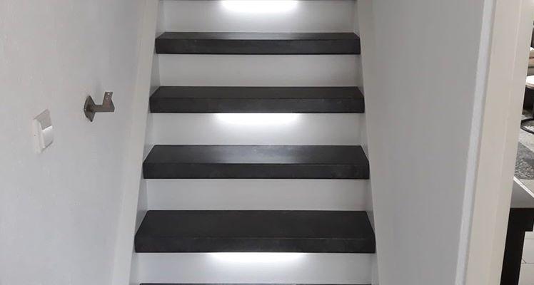 Trap Met Ledverlichting